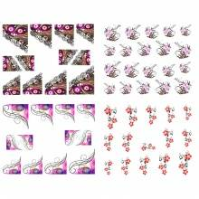 Watermark Decals Nail Sticker