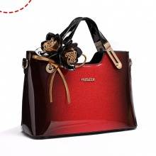 Luxury Patent Hand Bag.