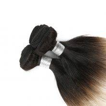 Precolored Blonde Ombre Straight Human Hair Weaves