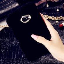 Lovely Soft Fur Women's Phone Case for Samsung